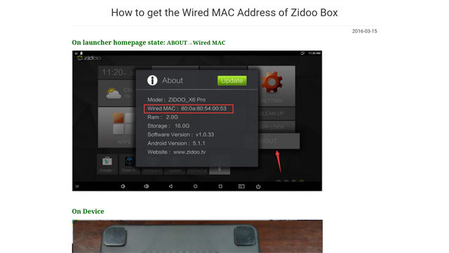 ZIDOO X9S APPS Helper