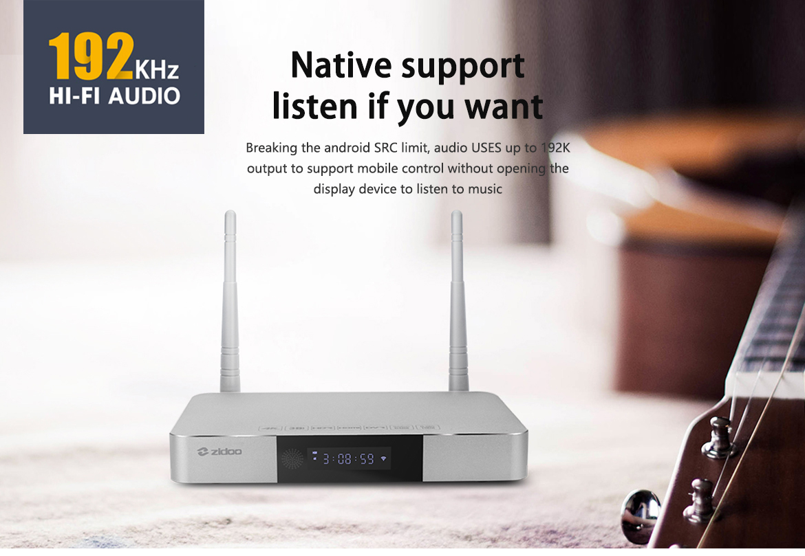 Z9S Best Android TV Box, Stick, 1080p 4K Streaming Media Player for