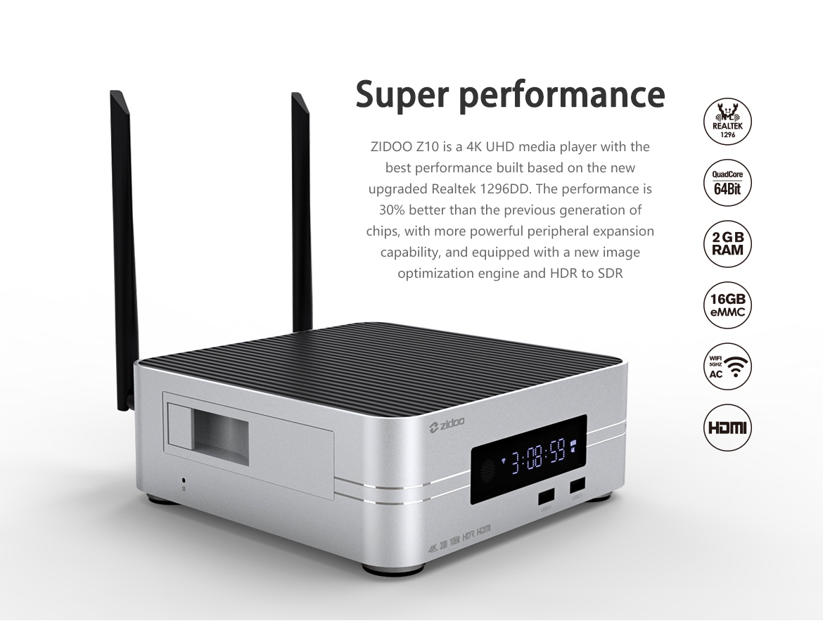 Z10 Best Android TV Box, Stick, 1080p 4K Streaming Media